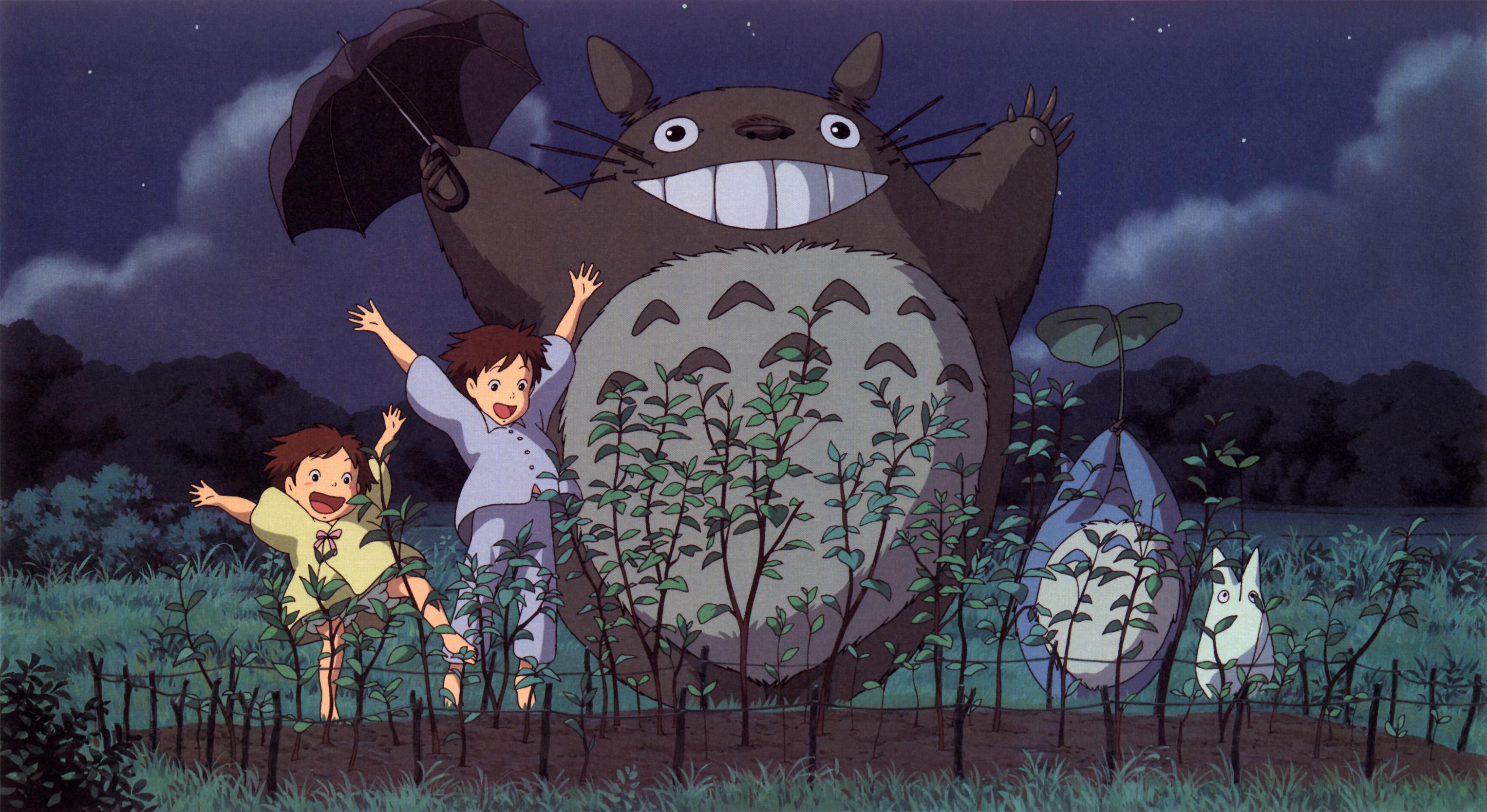 My Neighbor Totoro Wallpaper Simple Drift